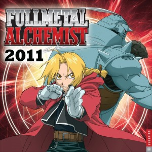 Fullmetal Alchemist: 2011 Wall Calendar