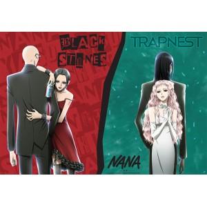 NANA Poster Black stones Trapnest