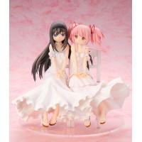 Puella Magi Madoka Magica The Movie Statues 1/7 Homura Akemi & Madoka Kaname 17 cm