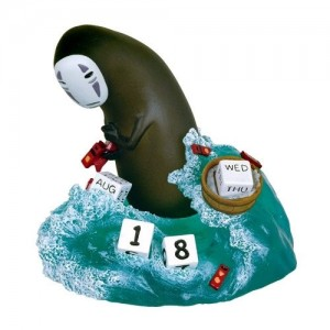 Spirited Away Perpetual Calendar No Face *English Version*