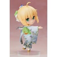 Fate/ Stay Night Chara Forme PVC Statue Saber Kimono Version 10 cm