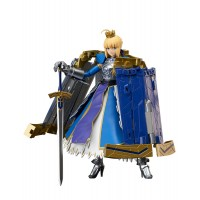 Fate/Grand Order AGP Action Figure Saber Arturia Pendragon & Variable Excalibur 14 cm