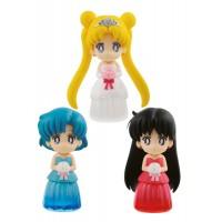 Sailor Moon Figures 6 cm Assortment Clear Colored Sparkle Dress Collection Vol. 1,2 (1 random)