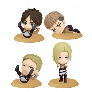 Attack on Titan ChiBi Figures 6 cm Assortment I