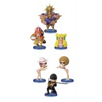 One Piece WCF ChiBi Figures 7 cm Assortment Dressrosa II(1 random)