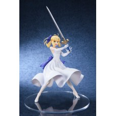 Fate/Stay Night Unlimited Blade Works PVC Statue 1/8 Saber White Dress Ver. 20 cm