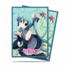 UP - Deck Protector Sleeves - Hatsune Miku Nekomimi (50 Sleeves)