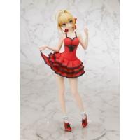 Fate/Extra CCC PVC Statue 1/7 Saber Crimson Modern Costume 25 cm
