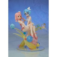 Wish Upon the Pleiades Statue PVC Subaru & Aoi Swimwear Ver. 21 cm