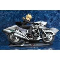 Fate/Zero Statue 1/8 Saber & Saber Motored Cuirassier 16 cm