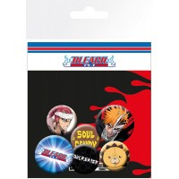 Bleach Pin Badges 6-Pack Mix