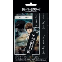Death Note Lanyard with Rubber Keychain
