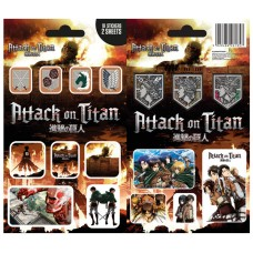Attack on Titan Vinyl Sticker Pack Mix