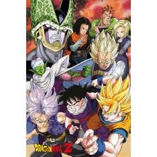 Dragonball Z Poster Pack Cell Saga 61 x 91 cm
