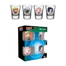 Naruto Shippuden Premium Shotglass 4-Pack Characters