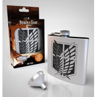 Attack on Titan Hip Flask Scout