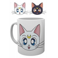 Sailor Moon Mug Luna & Artemis