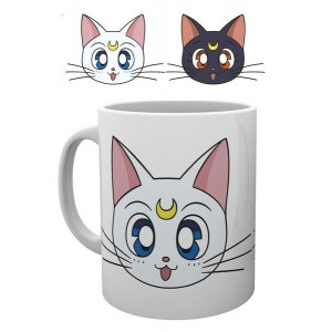 Sailor Moon Mug Luna & Artemis