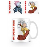One Punch Man Mug Saitama vs Boros