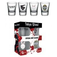Tokyo Ghoul Shotglass 4-Pack Mix