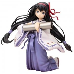Puella Magi Madoka Magica Ani Statue 1/8 Akemi Homura Miko 14 cm