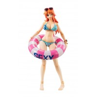 One Piece Variable Action Heroes Action Figure Nami Summer Vacation 16 cm
