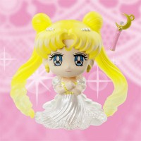 Sailor Moon Petit Chara Pretty Soldier Mini Figure Princess Serenity 6 cm