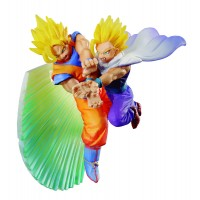 Dragonball Z Dracap Memorial PVC Statue Kamehameha Goku & Gohan 8 cm