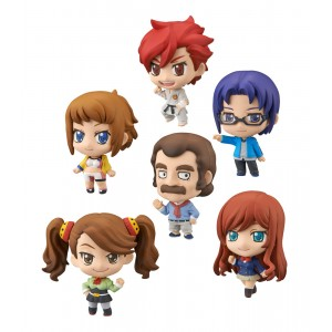 Gundam Build Fighters Try Petit Chara Trading Figure 6 cm Ver. G (1 random)