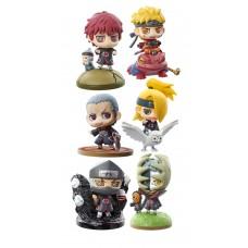 Naruto Shippuden Petit Chara Land Trading Figure 6 cm Naruto & Akatsuki Assortment (1 random)