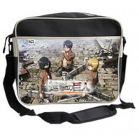 Attack on Titan Messenger Bag Trio 38 cm *French Version*