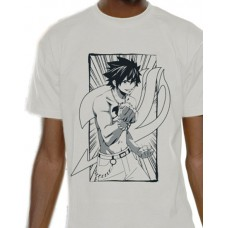 Fairy Tail T-Shirt Gray Line