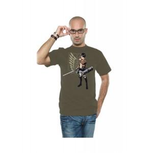 Attack on Titan T-Shirt Eren Flap