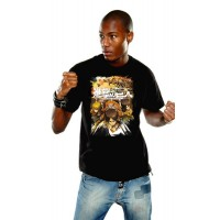 Attack on Titan T-Shirt Crewfight Black