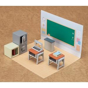Nendoroid More Decorative Parts for Nendoroid Figures CUBE 01 Classroom Set