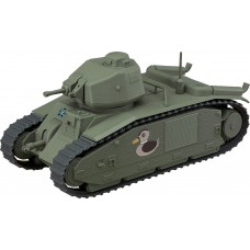 Girls und Panzer das Finale Nendoroid More Vehicle Char B1 bis 17 cm