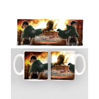 Attack on Titan Mug Duo
