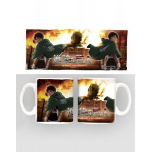 Attack on Titan Mug Duo