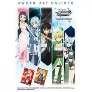 Weiß Schwarz - Booster Pack: Sword Art Online Re: Edit - EN
