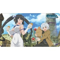 Is It Wrong to Try to Pick Up Girls in a Dungeon? Playmat - Bell & Hestia