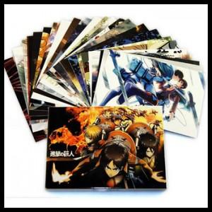 Attack on Titan Postcard (1 random)