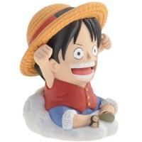 One Piece Bust Bank Luffy 10 cm