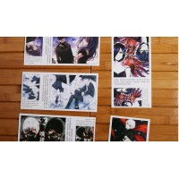 Tokyo Ghoul postcard (big+small+bonuss) (1 random)