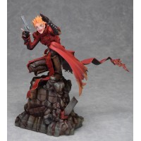 Trigun Badlands Rumble Statue 1/6 Vash The Stampede Holdup Ver. 23 cm