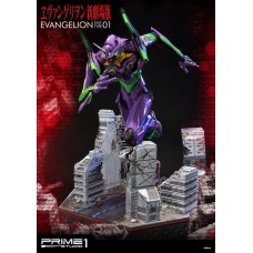 Neon Genesis Evangelion Statues EVA Test Type-01 & EVA Test Type-01 Exclusive 77 cm Assortment