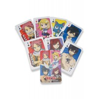 Fairy Tail Playing Cards Characters