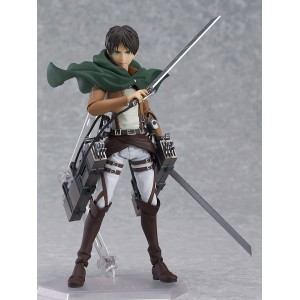 Attack on Titan Figma Action Figure Eren Yeager 15 cm