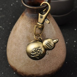 NARUTO Gaara Calabash Cucurbit Watch Key ring
