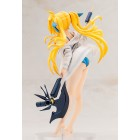 Magical Girl Lyrical Nanoha The Movie 2nd A´s Statue 1/8 Fate Testarossa Swimsuit Parka Style 18 cm