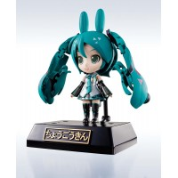 Miku Hatsune CuteRody Chogokin Diecast Action Figure Miracle Henkei Miku/Rody 11 cm